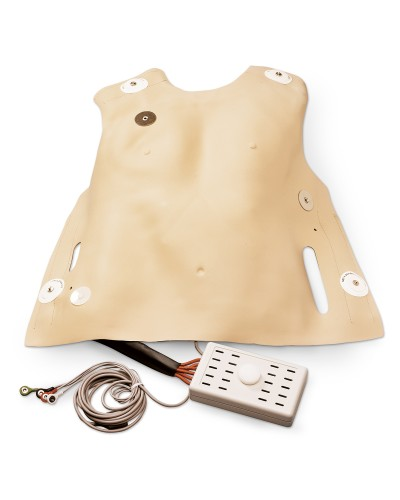 Defibrillation Chest Skin