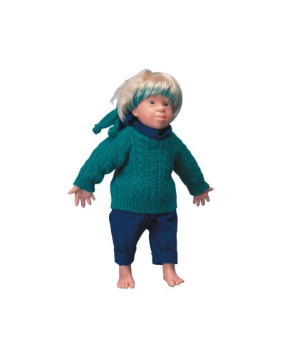 Kim - Caucasian Down's Syndrome Doll (Trisomy 21), Male