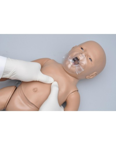 Newborn CPR and Trauma Care Simulator - with Code Blue Monitor plus with Intraosseous and Venous Access