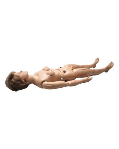 Clinical Chloe Patient Care Simulator with Sculpted Stomas