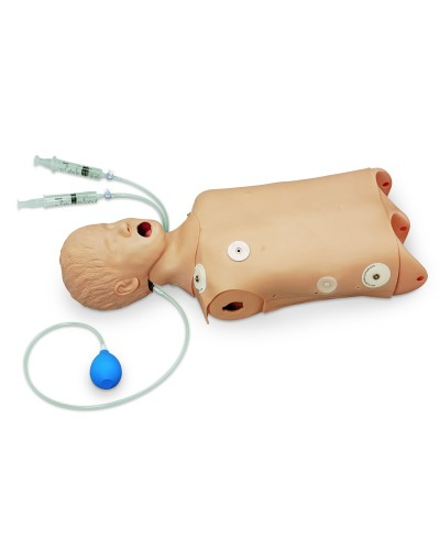 Advanced Child CPR/Airway Management Torso with Defibrillation Features