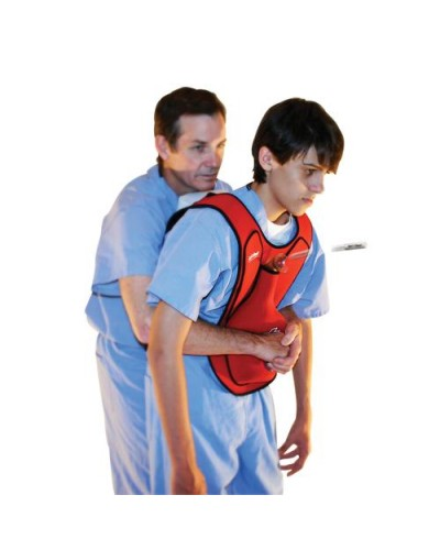 Act+Fast Rescue Choking Vest - Blue