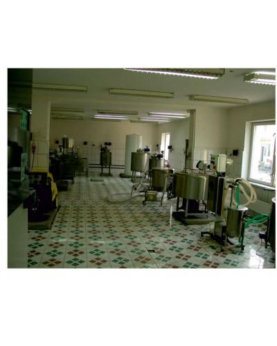 Учебно-технологическая линия для переработки молока, производительностью 100 л/смену